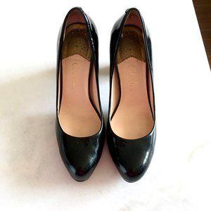 Cole Haan Nike Air black high heel shoes / pumps